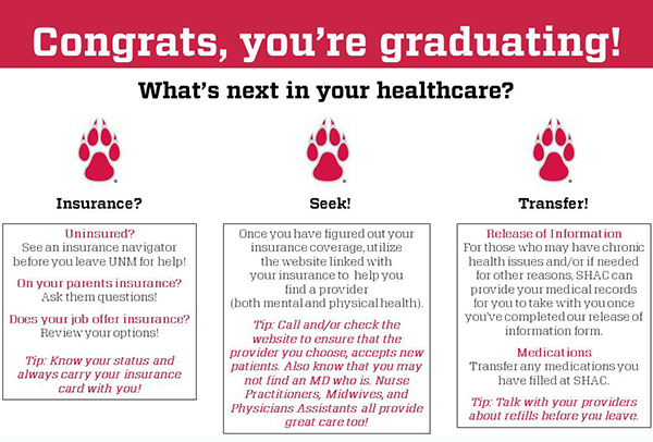 Graduates: What Is Next in Your Healthcare?