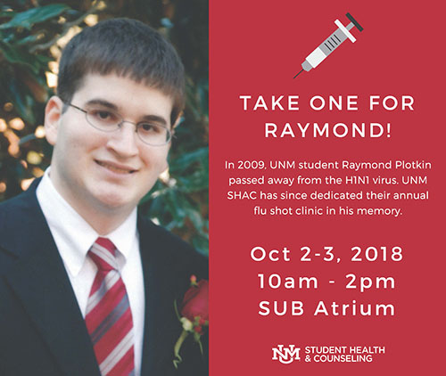 Take One For Raymond Flu Shot Clinic